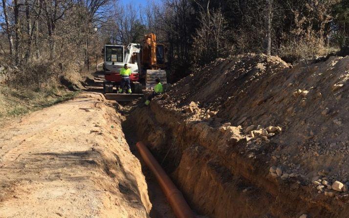 Foto 1 - Las obras de pavimentación de Pedrajas incluyen una mejora de la red hidráulica