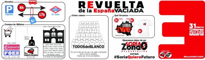 Foto 1 - Guía práctica para el 31-M. La manifestación de Soria Ya en Madrid en 12 preguntas y 12 respuestas