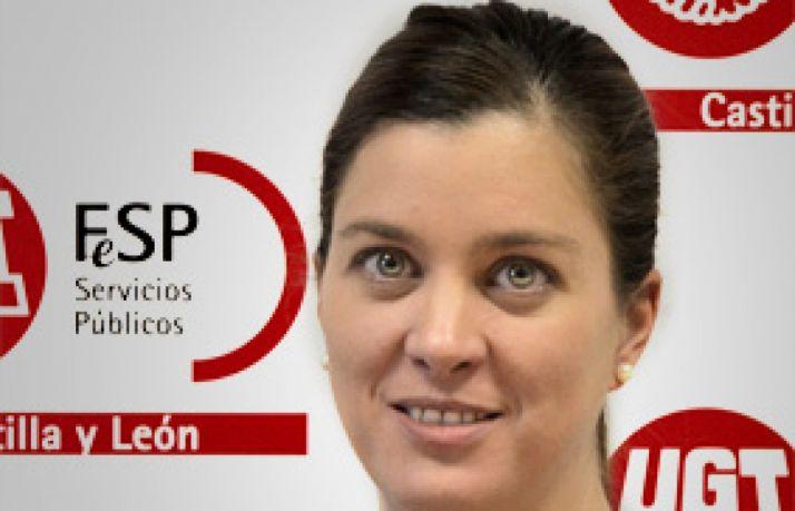 Beatriz García González, secretaria Enseñanza FeSP-UGT CyL.