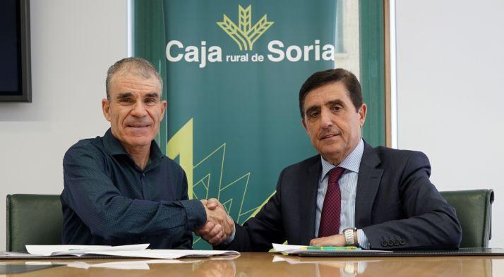 José Miguel Celorrio (izda.) y Carlos Martínez Izquierdo. /CRS