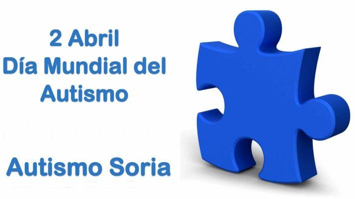 Foto 1 - FECSoria y Autismo Soria animan a las empresas a dar una pincelada azul a sus negocios en el Día Mundial de este trastorno