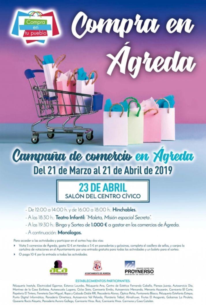 Foto 2 - Ayuntamiento y comerciantes de Ágreda inician una campaña para alentar el consumo