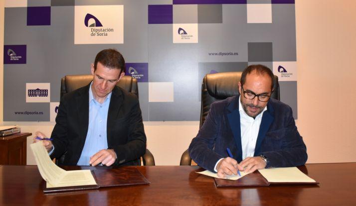 Foto 1 - La Diputación colabora con la Federación de Triatlón de CyL con 18.000 euros para tres pruebas