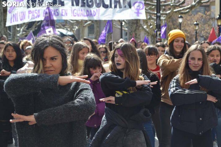 GALERÍA: Soria se viste de morado y lucha por el 8M
