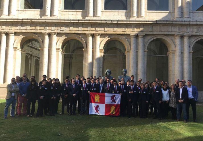 Foto 1 - La delegación de Castilla y León de Spainskills se prepara para el campeonato regional