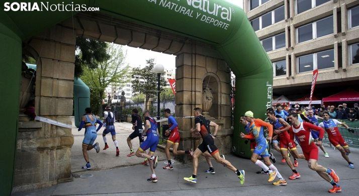 Foto 1 - El Duatlón de Soria, próxima prueba nacional de triatlón en Castilla y León