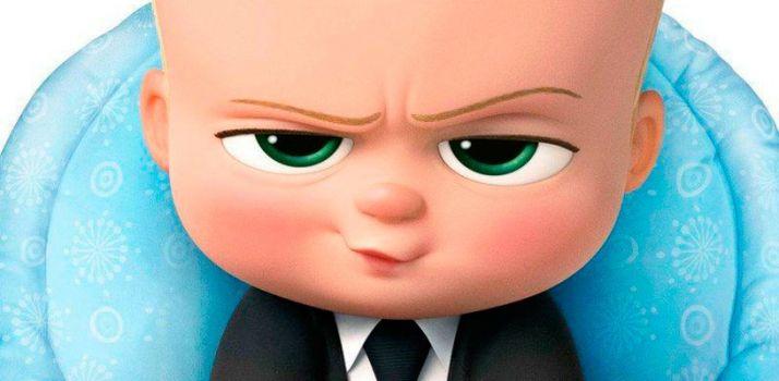 Detalle de un fotograma de 'Bebé jefazo'.