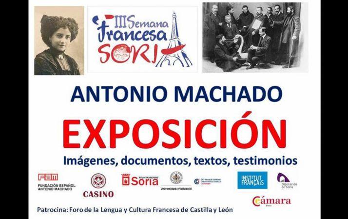 Foto 1 - El Casino acoge una muestra sobre Machado dentro de la Semana Francesa