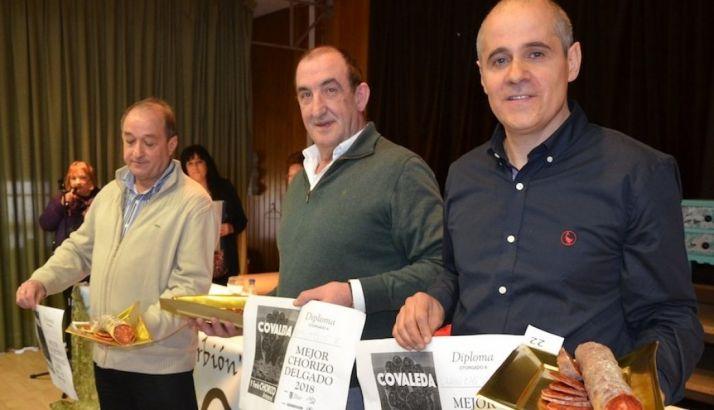 Ganadores del Concurso en la V Feria del Chorizo