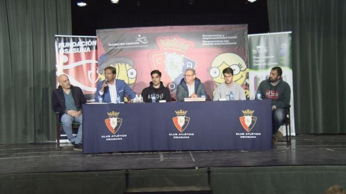 Foto 2 - Ólvega, sede de la escuela de fútbol de la Fundación Osasuna