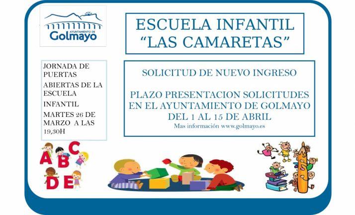 Foto 1 - La escuela infantil de Las Camaretas abre el 1 las suscricpiones para el próximo curso