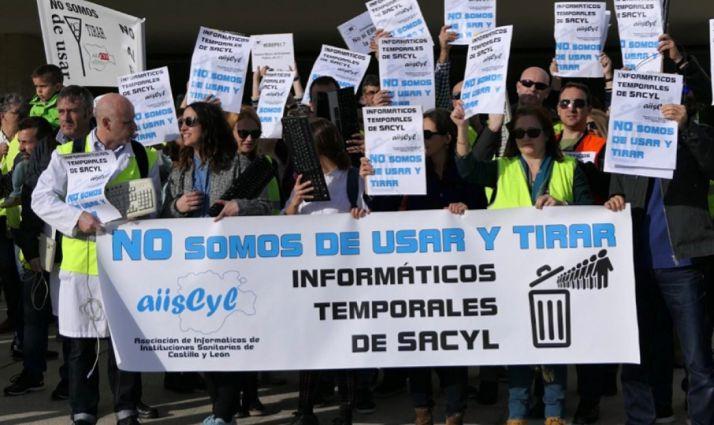 Foto 1 - Los informáticos del Sacyl, convocados a la huelga este jueves