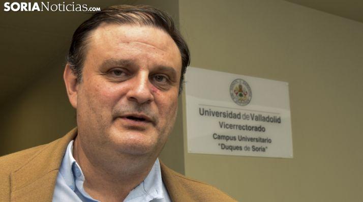 José Luiz Ruiz, vicerrector del Campus. /SN