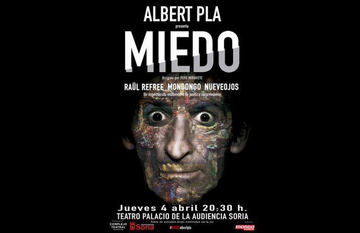 Foto 1 - Albert Pla pone en escena 'Miedo' el jueves en La Audiencia