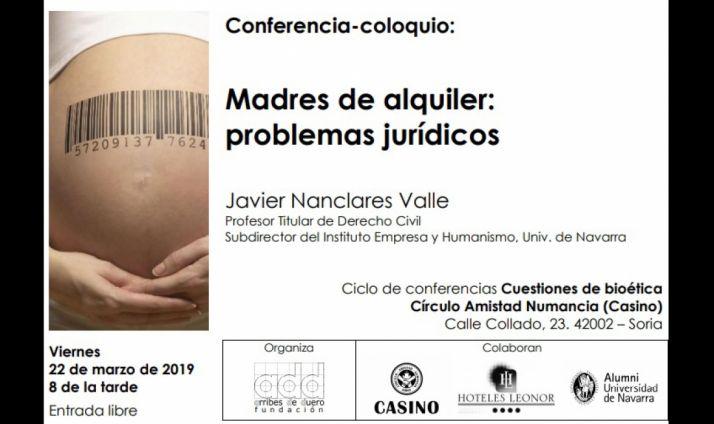 Foto 1 - Los problemas jurídicos de las madres de alquiler, a debate mañana en el Casino
