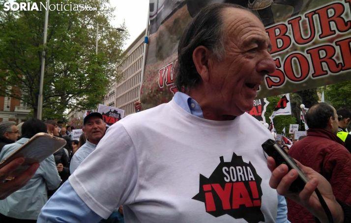 Raimundo Martínez, este domingo en Madrid. /SN