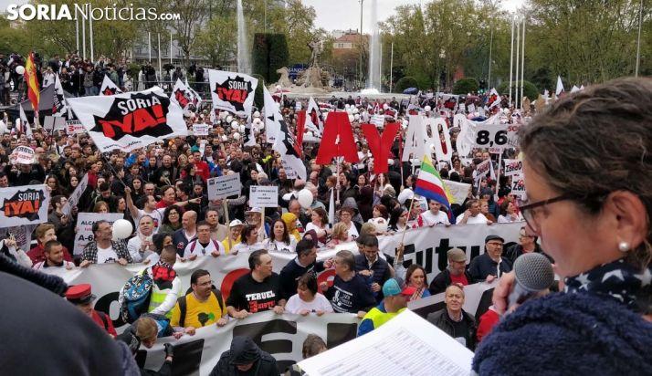 Foto 1 - 100.000 manifestantes en la Revuelta de la #EspañaVaciada