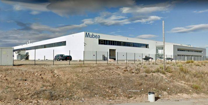 La factoría de Mubea, en el polígono Valdemiés II en Ágreda.