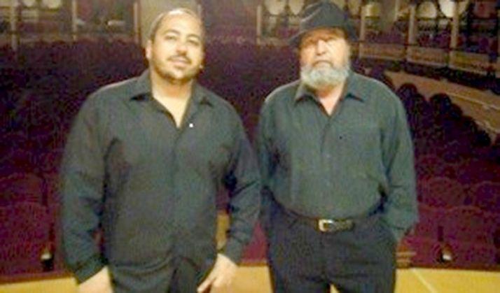 Néstor Paz (izda.) y Manuel Madrid.