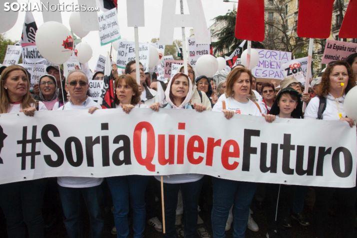 FOTOS Y VÍDEO: La España vaciada toma Madrid para gritar contra la despoblación