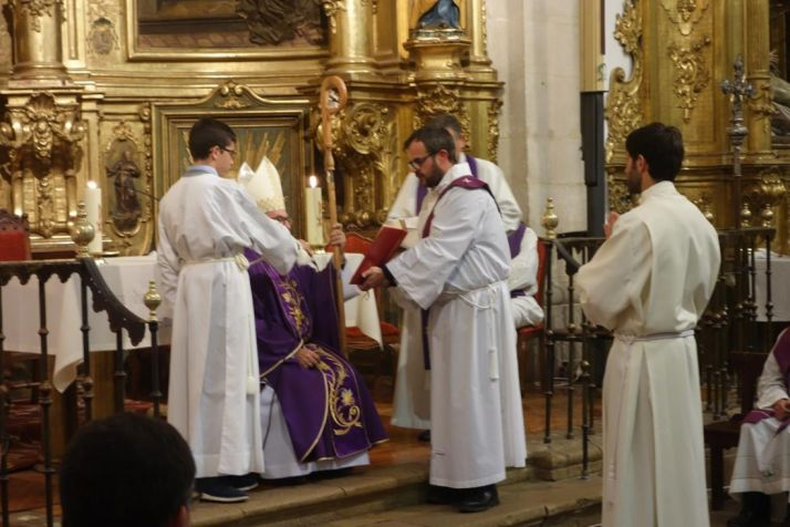 Una imagen de la celebración del rito. /SN