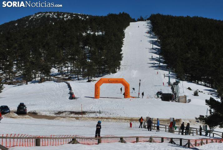 Punto de nieve de Santa Inés. SN