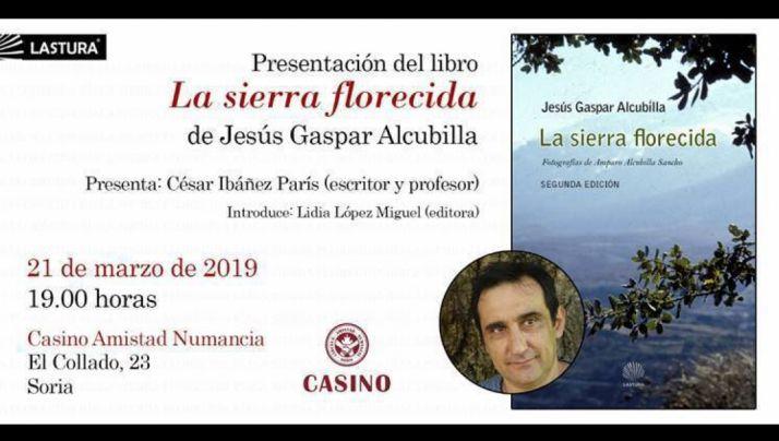 Foto 2 - El escritor soriano Jesús Gaspar Alcubilla presenta este jueves el libro de relatos 'La sierra florecida'