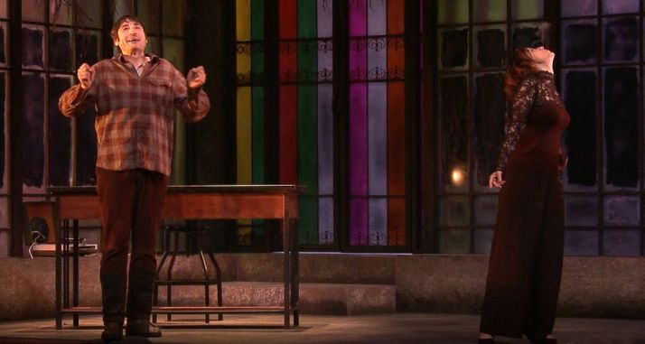 Una imagen de la puesta en escena.