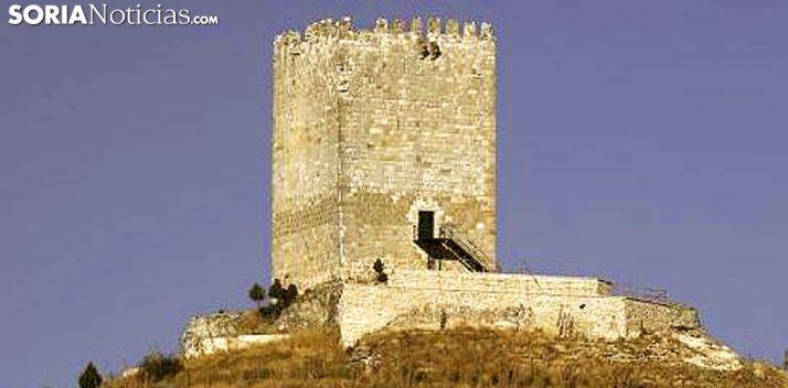 Foto 1 - Medio centenar de árboles evitará la erosión del castillo de Langa