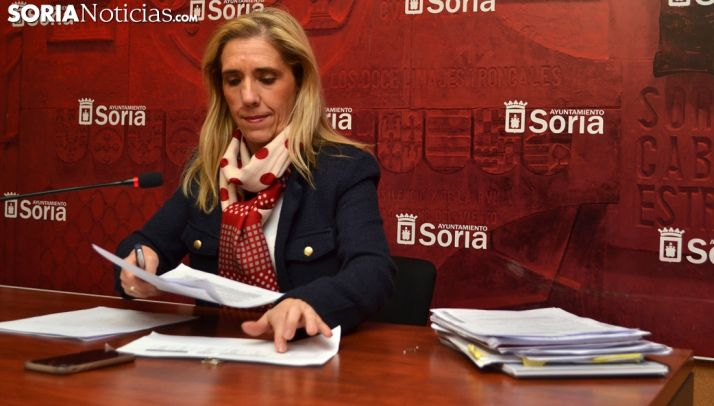 Teresa Valdenebro, esta tarde de martes. /SN