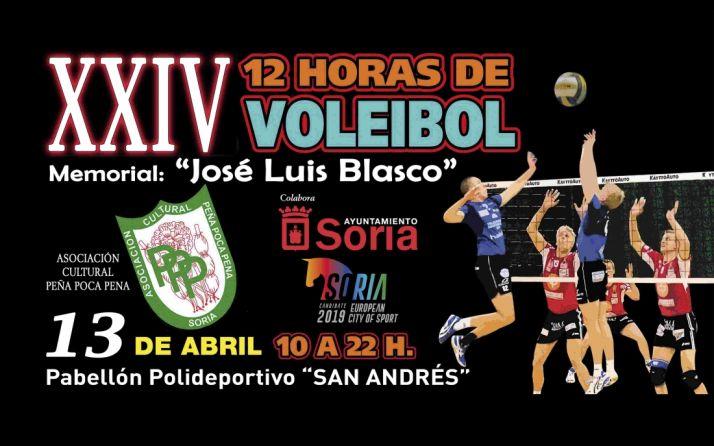 Foto 1 - El 12 de abril, las 12 horas de voleibol de la Poca Pena