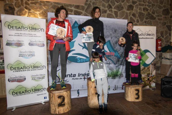 Foto 2 - Sergio Herrero y Cristina Tejedor, ganadores del 'SnowCross Desafío Urbion'