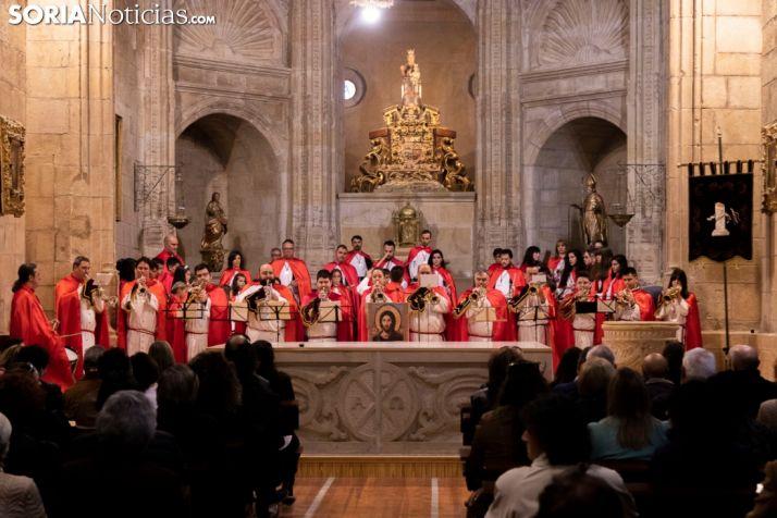 Foto 1 - La Cofradía de la Flagelación del Señor ofrece un concierto solidario en El Espino