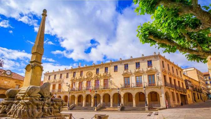 Foto 1 - La ciudad de Soria recibe el Premio Nacional 'El anillo Deporte y Turismo'
