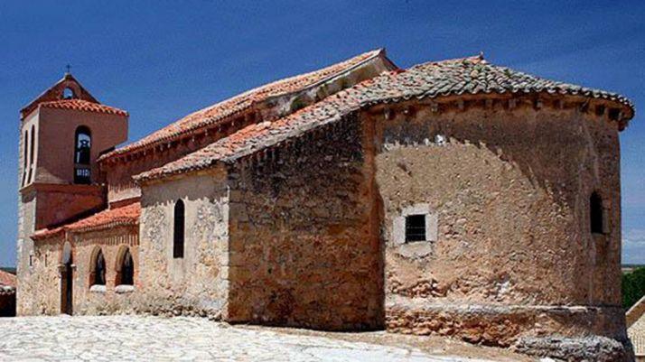 Templo de Nuestra Señora de la Asunción, en Los Llamosos.