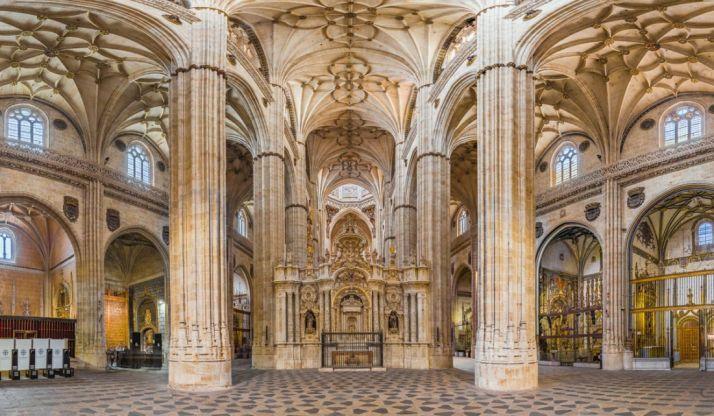 Interior de la Catedral. /catedralsalamanca.org