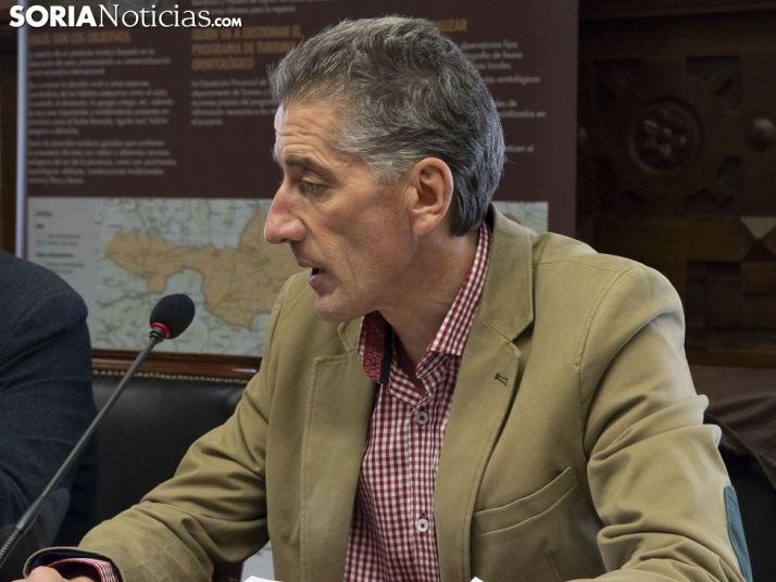 Presentación de las Jornadas en Diputación Provincial. /Jasmín Malvesado.
