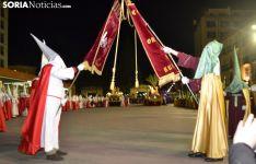 La imagen de hermandad que protagoniza el Martes Santo en la capital soriana. /SN
