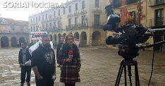 Sergio de Miguel, antes de intervenir en el programa de esta tarde. /SN
