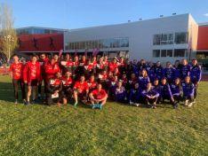 El CA Numantino y Las Celtíberas disputaron el Campeonato de Clubes Absolutos de Castilla y León en Burgos.