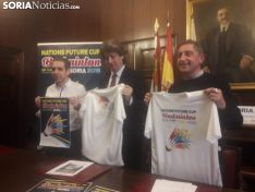 Presentación del Nations Future Cup en el Ayuntamiento de Soria. SN