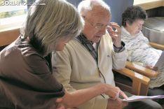 Imagen de uno de los usuarios de Alzheimer Soria.