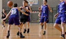 Un partido del Infantil masculino del CSB. /AFOMIC
