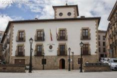 Casa de la Tierra, espacio donde su ubica la sede de la Uned de Soria. SN