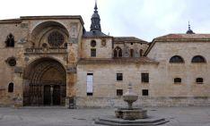 Una imagen de la catedral de El Burgo de Osma. /