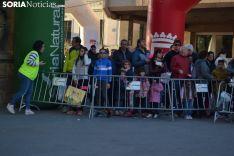 Una imagen de la carrera solidaria este viernes. /SN
