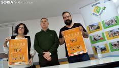 Torres, Antón y De Miguel en la presentación de la gala. /SN