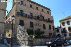 Sede de la Agencia Tributaria en la capital de Soria. SN