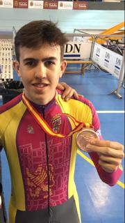 Foto 2 - Antonio González, bronce en el Campeonato de España de ciclismo en pista