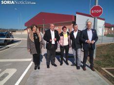 El PSOE de Soria inicia la campaña en el nuevo centro penitenciario.